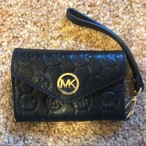 Michael Kors Wallet Wristlet Phone Case